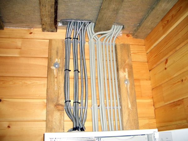 Проводка электрическая в доме